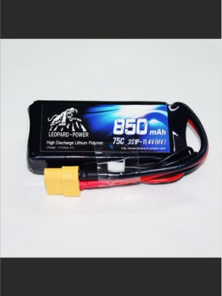 850mAh-75C-3S-11.4HV-Leopard-Power