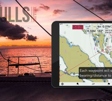 Seapilot Navigation App. Nultihulls Magazine Multihulls Review