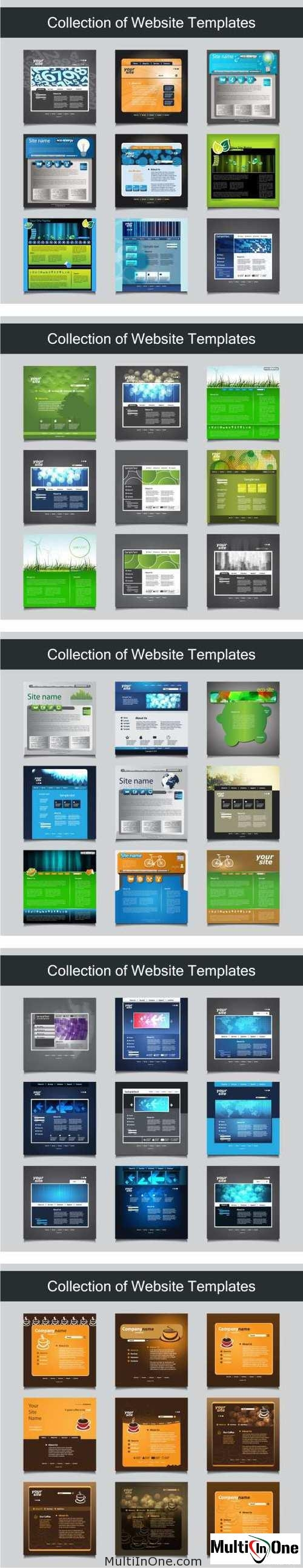 Big Set Of Websites Templates 7