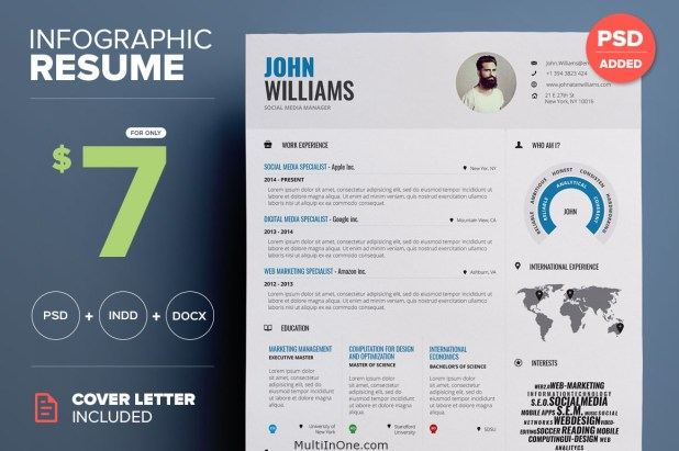 Infographic Resume Vol. 1_SS1