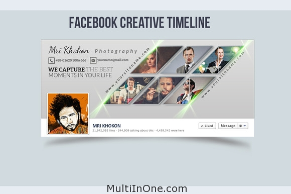 Facebook Creative Timeline Cover 2