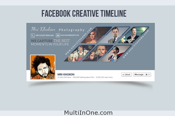 Facebook Creative Timeline Cover 3
