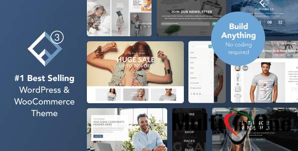 Flatsome v3.2.5 – Multi-Purpose Responsive WooCommerce Theme (Themeforest) Free Download