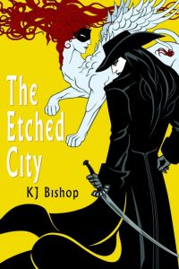 K.J. Bishop The Etched City okładka
