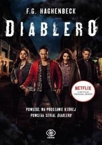 Diablero okładka polskiego wydania powieści