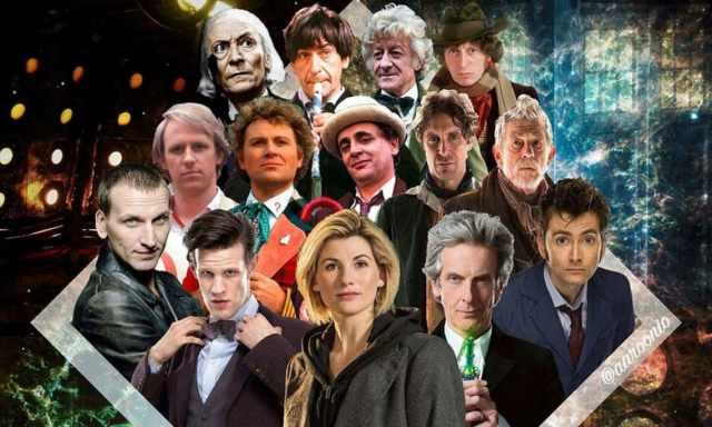 Doktor Who obsada aktorów tytułowej postaci