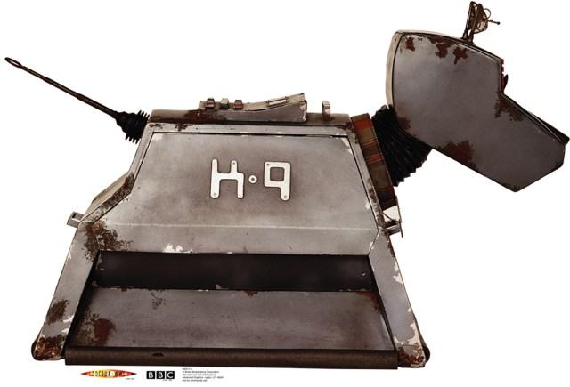 Postać K-9 psa-robota z serialu Doktor Who