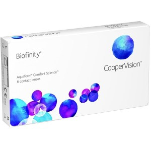 Biofinity, lentes de contato