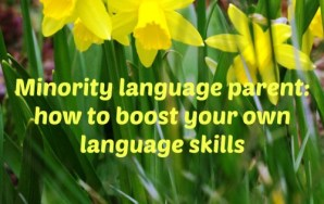 Minority language parent: how to boost your own language skills