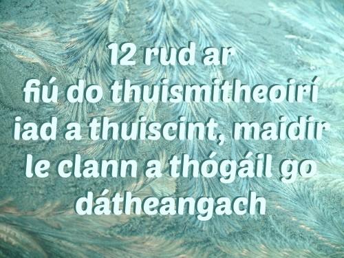 12 rud ar fiú do thuismitheoirí iad a thuiscint, maidir le clann a thógáil go dátheangach