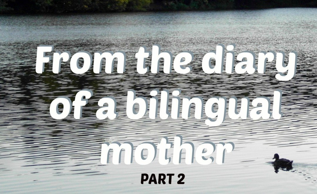 From the diary of a bilingual mother 2