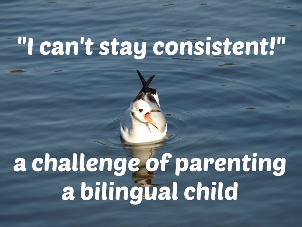 I can't stay consistent - the challenge of parenting bilingual children PIC
