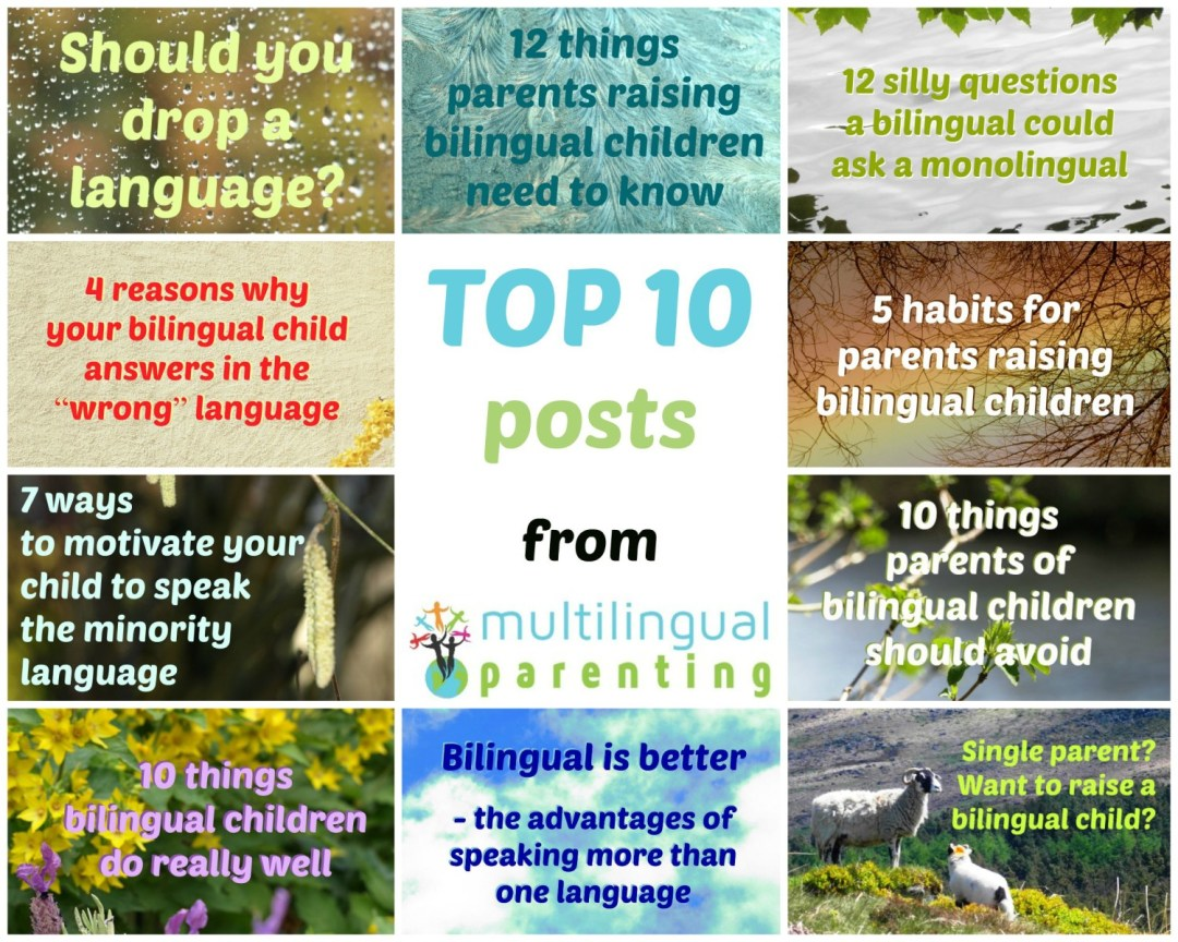 Top 10 posts from multilingualparenting.com
