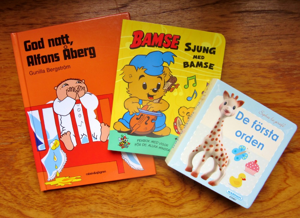Children's books in Swedish