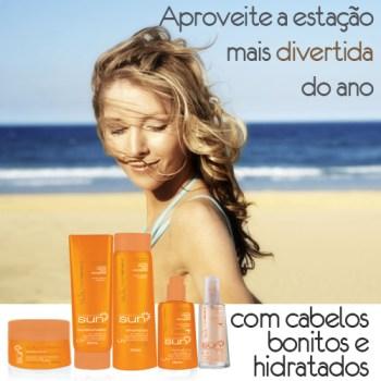 SB - Cuidados com os cabelos no verão e sun protection