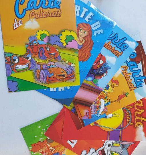 Tarabostes Carte De Colorat