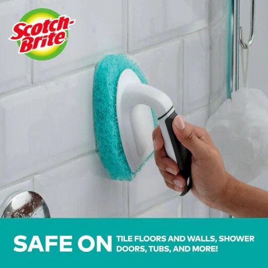 scotch brite non scratch tub tile