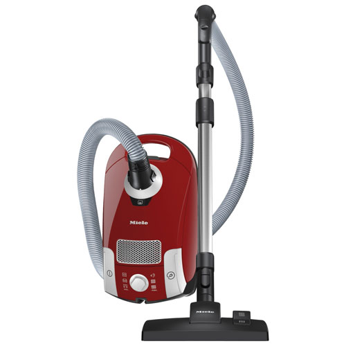 Miele Compact C1 Hardfloor Plus Canister Vacuum Autumn Red Only At Best Buy Best Buy Canada