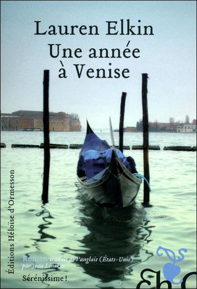 Couverture - Une année à Venise