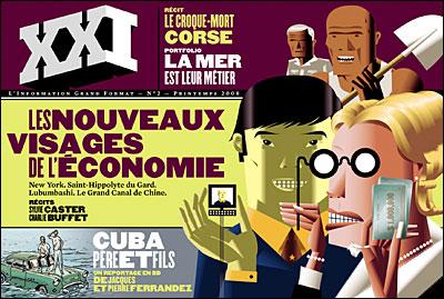XXI #2 Les Nouveaux Visages de l'Economie