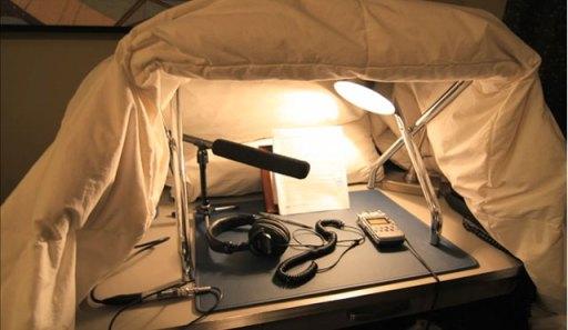 Audio Journalist Field Equipment