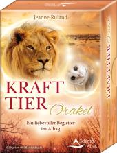 Krafttier-Orakel, 64 Orakelkarten u. Begleitbuch