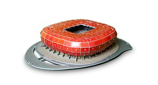 miniaturowy stadion Bayern Monachium
