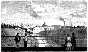 Aarhus Banegård 1862