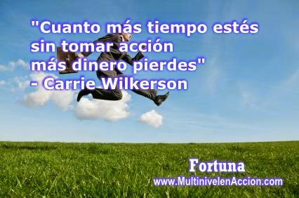 acction, dinero, multinivel, network marketing, mercadeo en red