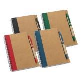 Caderno Em Kraft