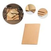 Caderno A5 com capa cartão