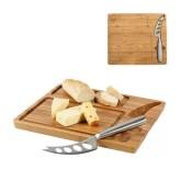 Tabua de queijo em Bambu com Faca