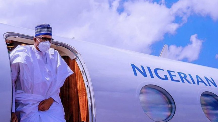 Buhari Leaves for France for official ,visit to Attend African Economic Summit