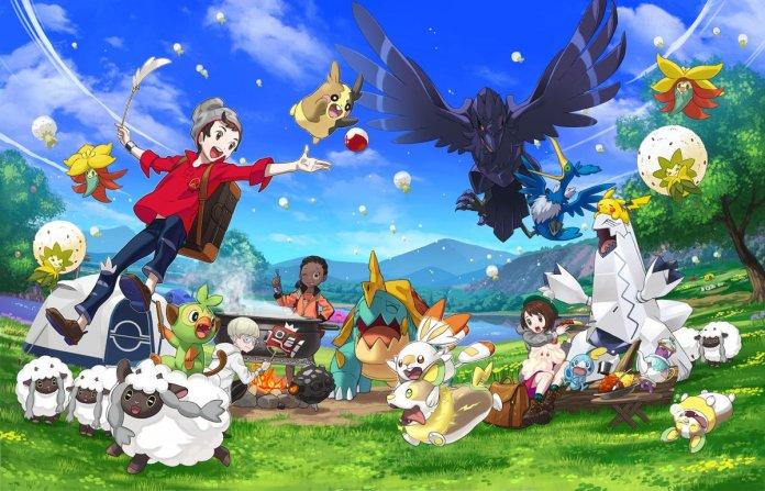 Risultati immagini per Pokémon spada e scudo