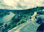 Getting the best angle of Namur from the Citadelle