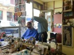 The most Kitsch barber I've ever been to!