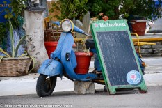 Yeah, that is a good use for a vintage vespa!