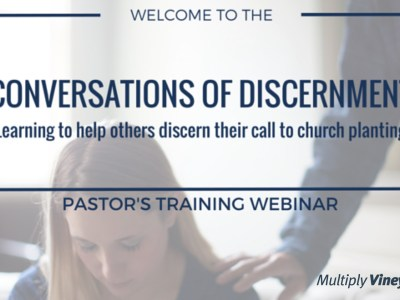 Conversations of Discernment Webinar (Full Recording)