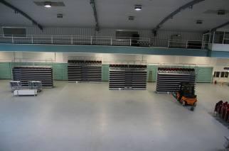 Nordseehalle Emden Deutschland ELAN TransFlex mobille Teleskop-Tribünen ELAN Standworks