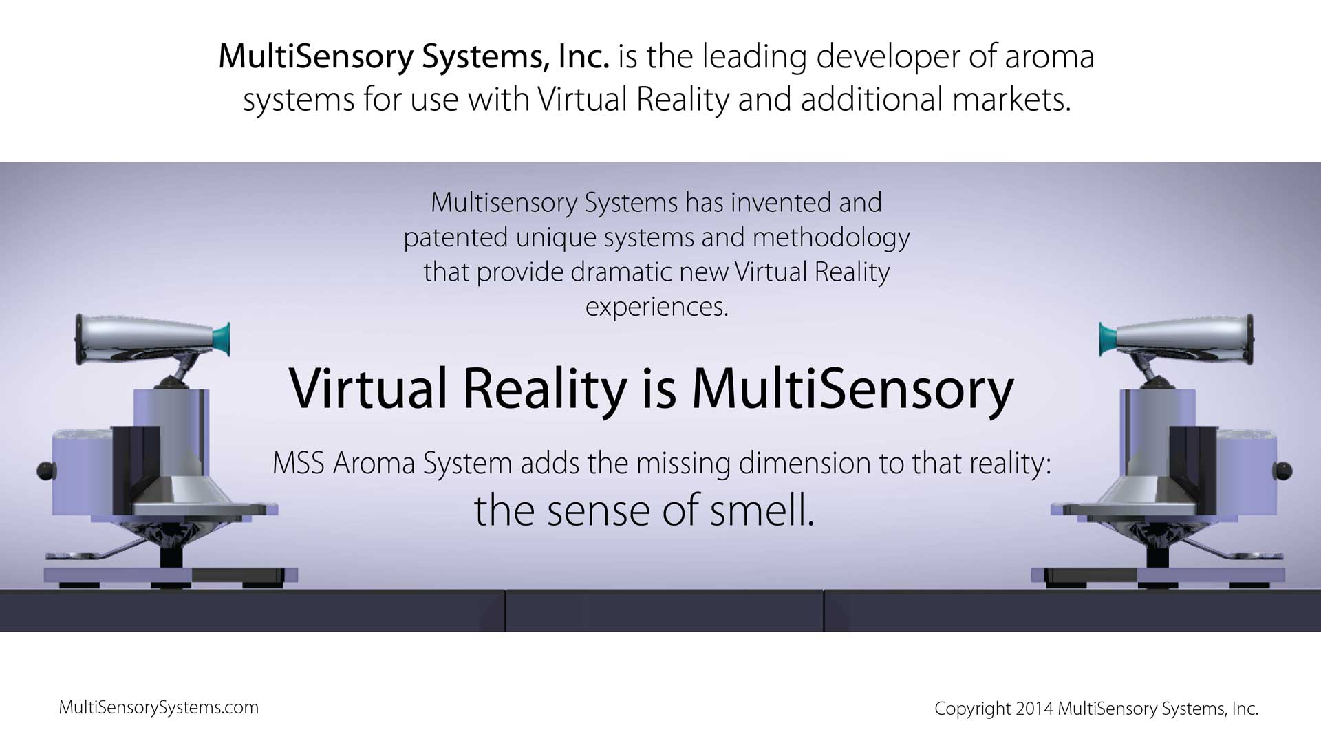 Virtual Reality is Multisensory