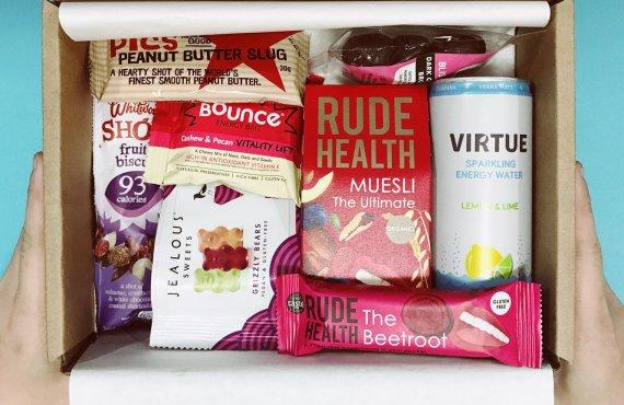 snacks box sample