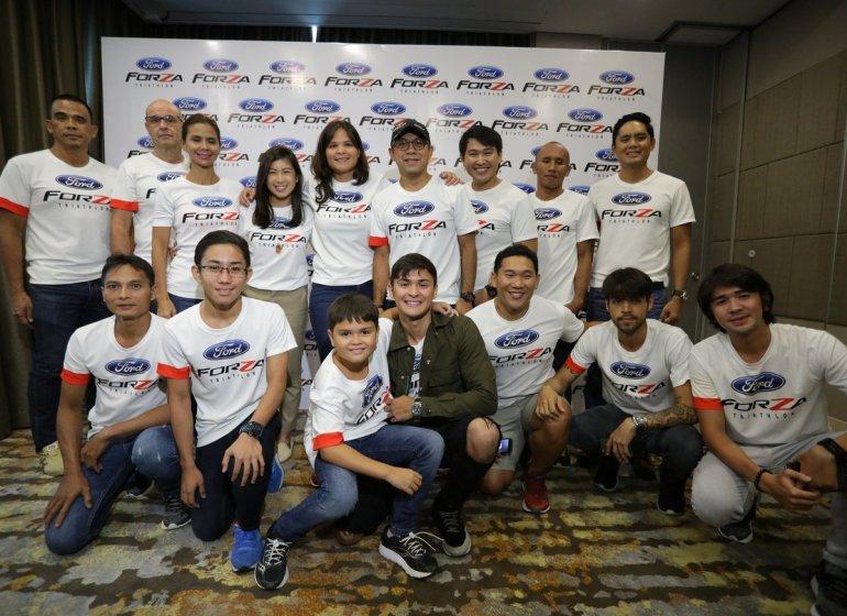 team ford forza triathlon