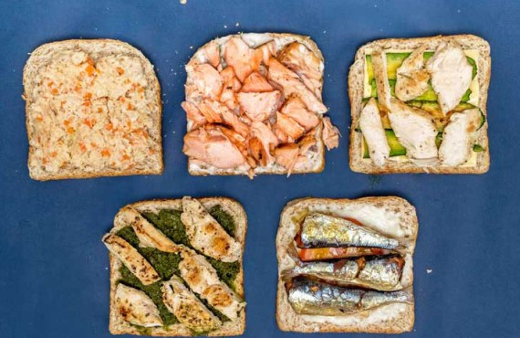 Five Tasty Toast Toppings to Make Now