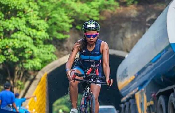 This triathlete needs your help to compete in the 70.3…