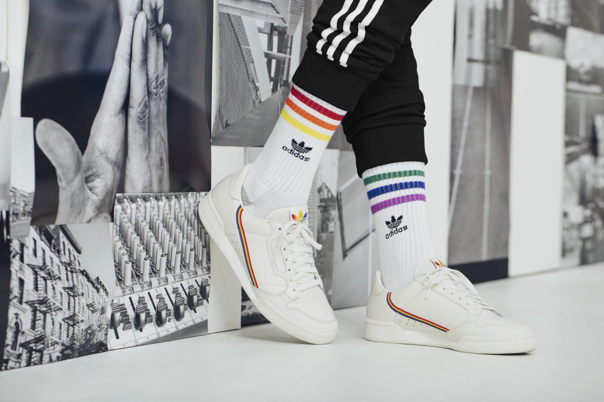 Adidas celebrates love with Originals Pride Pack,