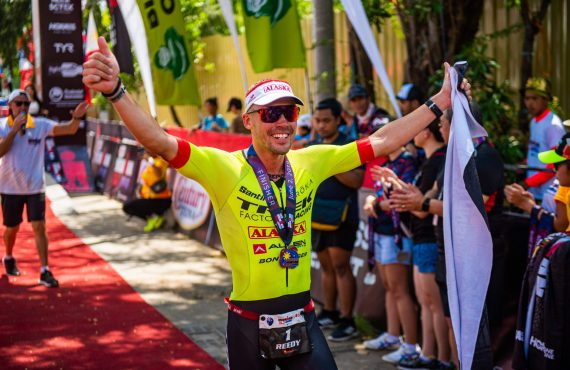 Reed, Steffen reclaim crowns at Ironman 70.3 in Subic