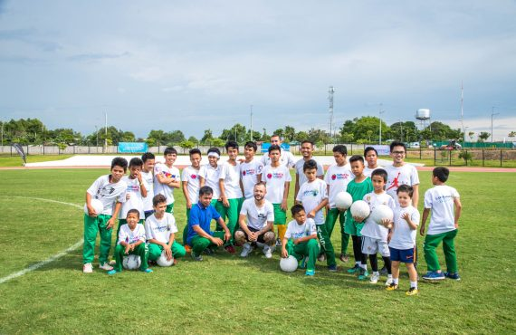 Football rebuilds the future of marginalized youth, brings nations together
