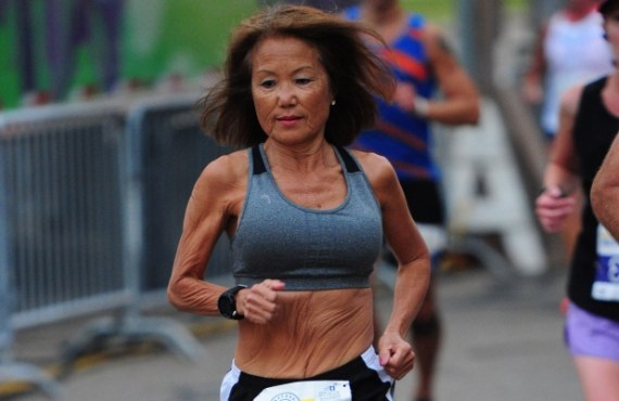 71-year-old runner sets new half marathon world record