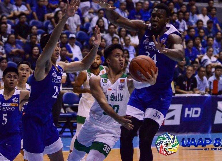 competitive price f5cfe 5443e UAAP Season 82: Ateneo shows why they're still better than ...