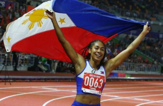 Kristina Knott nails 200-meter dash, sets new SEA Games record